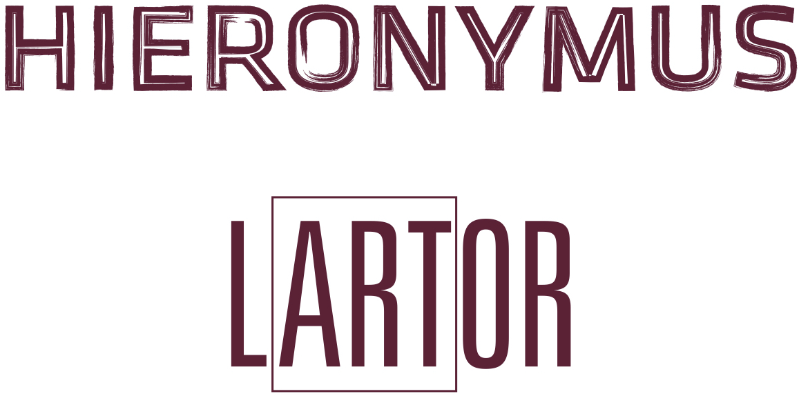 HIERONYMUS_LARTOR_Doppellogo_Pantone_7421 Newsletter